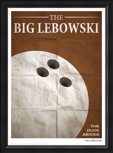 Framed Framed Bowling - The Big Lebowski