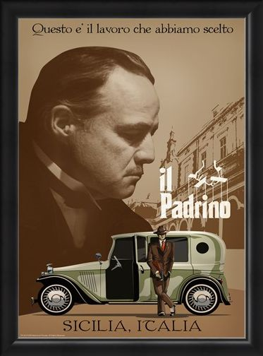 Framed Framed Sicilia - Godfather