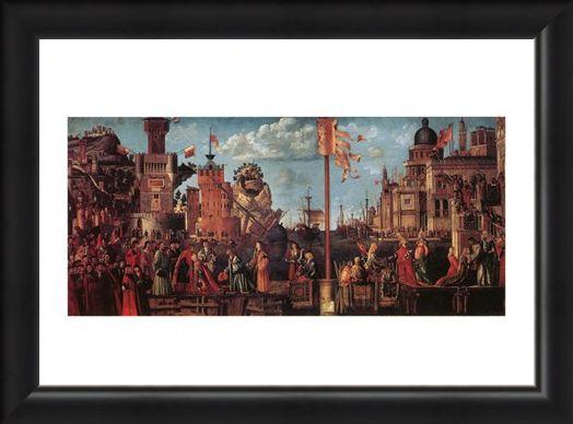 Framed Framed Incontro Di S. Orsola Con Lo Sposo - Carpaccio