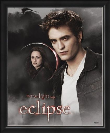 Framed Framed Dreaming of Bella - Robert Pattinson is Edward Cullen