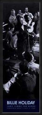 Framed Framed Lady Sings The Blues - Billie Holiday