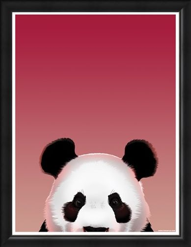 Framed Framed Pop Up Panda - Inquisitive Creatures