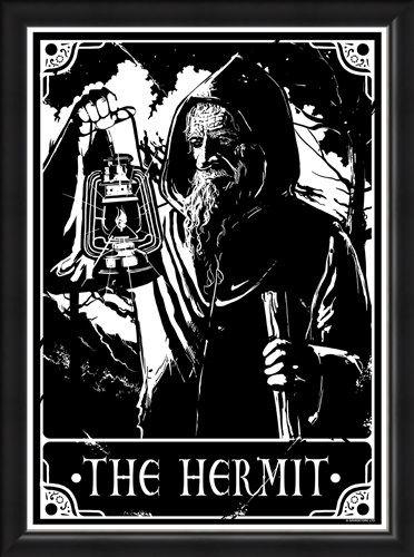 Framed Framed The Hermit - Deadly Tarot