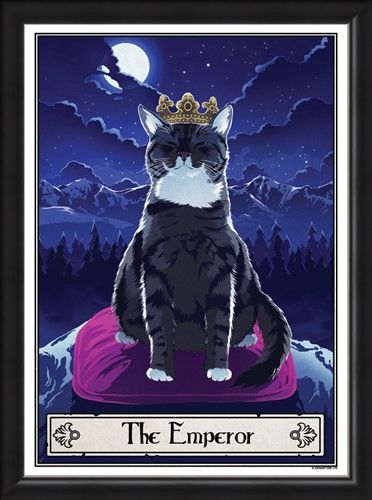 Framed Framed The Emperor - Deadly Tarot Felis
