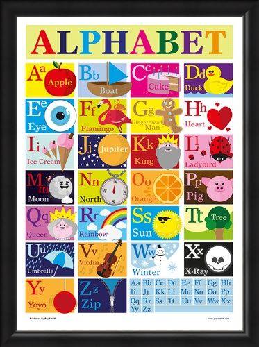 Framed Framed Alphabet - Alphabet Fun