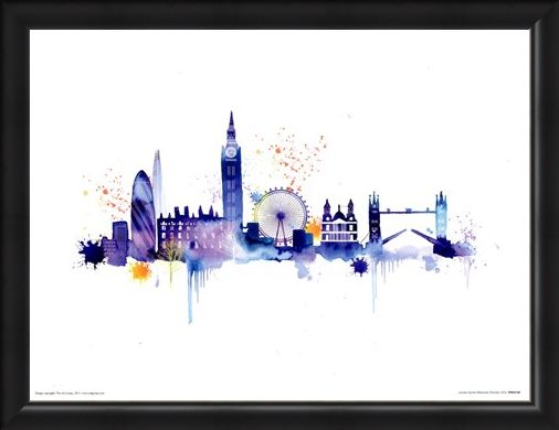 Framed Framed London Skyline - Summer Thornton
