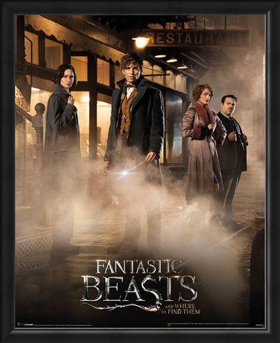 Framed Framed Magical Group - Fantastic Beasts