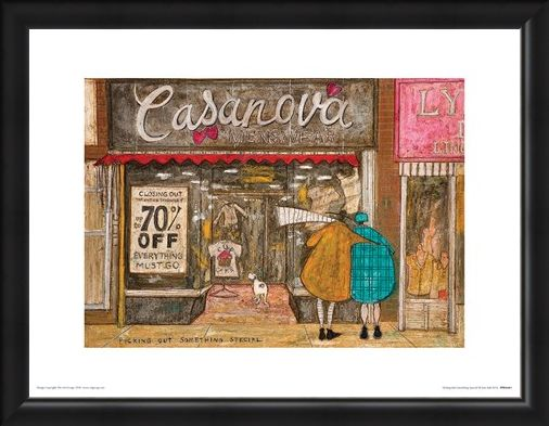 Framed Framed Picking Out Something Special - Sam Toft