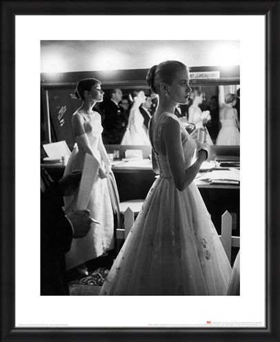 Framed Framed Audrey Hepburn & Grace Kelly - Time Life