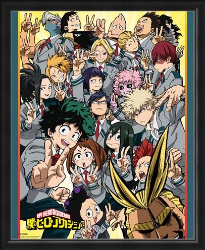 Framed Framed School Compilation - My Hero Academia