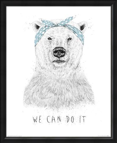 Framed Framed We Can Do It - Balazs Solti