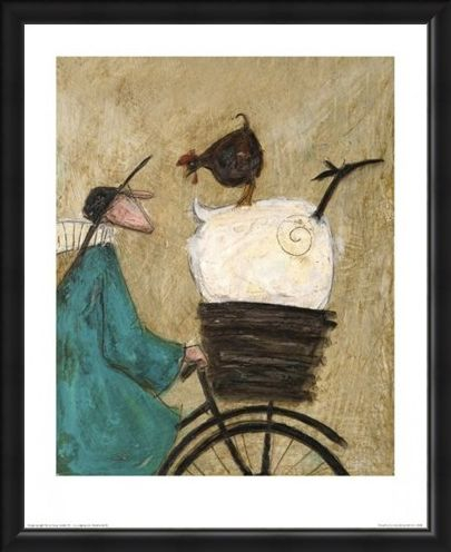 Framed Framed Taking The Girls Home - Sam Toft