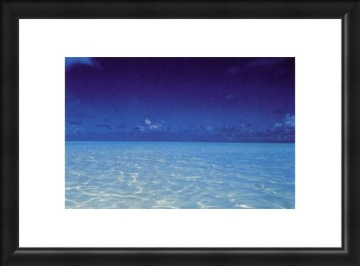 Framed Framed French Polynesia - Jean Paul Nacivet