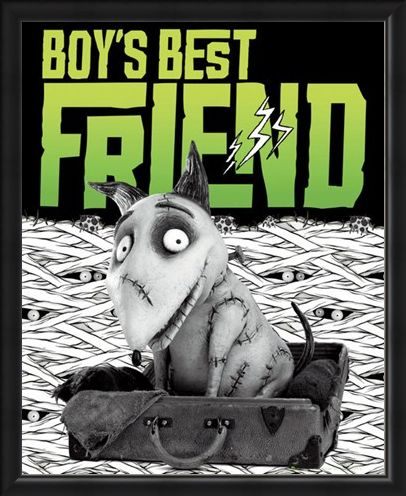Framed Framed Boy's Best Friend - Tim Burton's Frankenweenie
