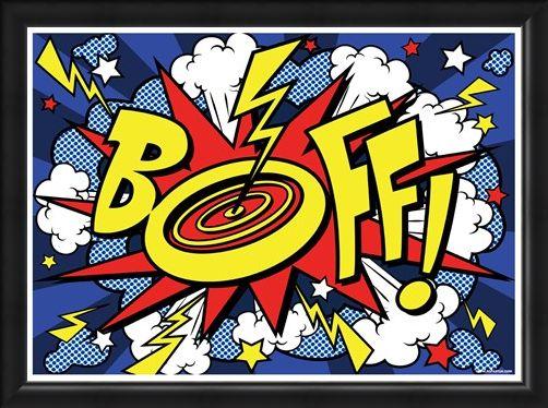 Framed Framed Boff! - A Pop Art Explosion