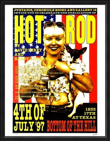 Framed Framed Hot Rod - Frank Kozik