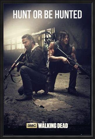 Framed Framed Hunt Or Be Hunted - The Walking Dead