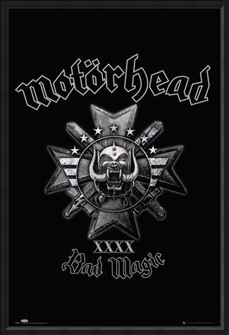Framed Framed XXXX - Motorhead Bad Magic