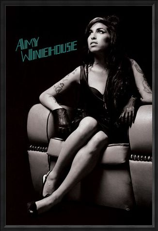 Framed Framed A True Talent - Amy Winehouse