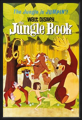 Framed Framed The Jungle Is Jumpin - Walt Disney The Jungle Book