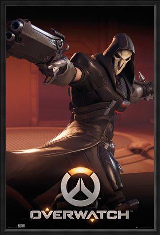 Framed Framed The Reaper - Overwatch
