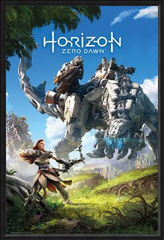 Framed Framed Protector Of The Earth - Horizon: Zero Dawn