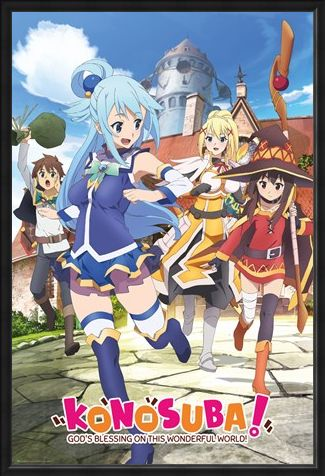 Framed Framed God's Blessing On This Wonderful World! - Konosuba