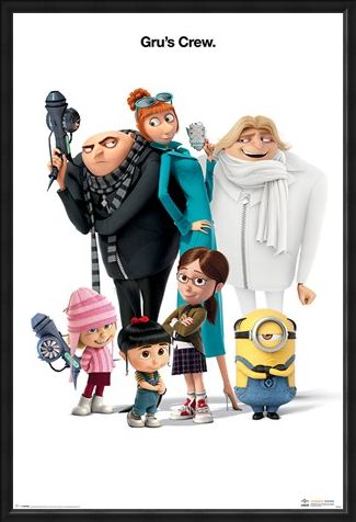 Framed Framed Gru's Crew - Despicable Me 3