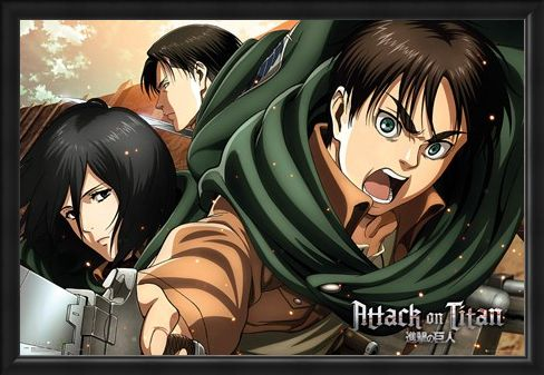 Framed Framed Scouts - Attack On Titan Season 2