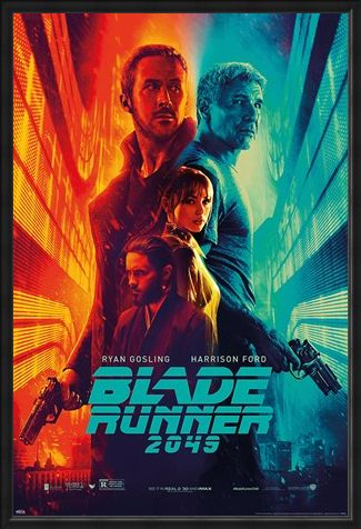 Framed Framed Fire & Ice - Blade Runner 2049
