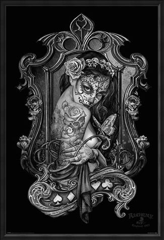 Framed Framed Widow's Weeds - Alchemy Gothic