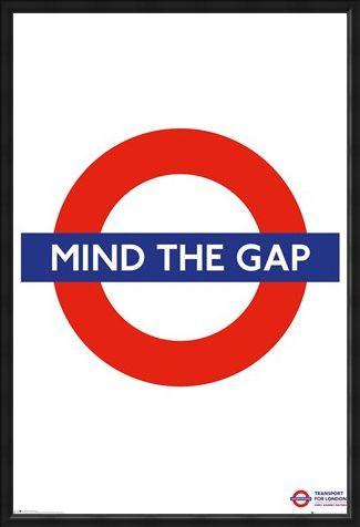 Framed Framed Mind The Gap - Transport For London