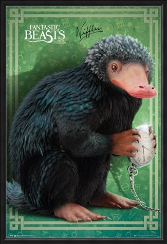 Framed Framed Niffler - Fantastic Beasts and Where To Find Them