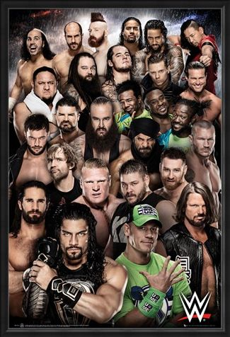 Framed Framed Superstars 2018 - WWE