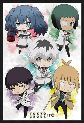 Framed Framed Chibi Characters - Tokyo Ghoul