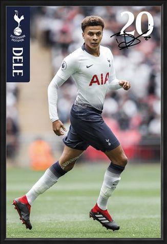 Framed Framed Alli 18-19 - Tottenham Hotspur