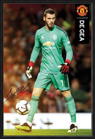 Framed Framed De Gea 18-19 - Manchester United