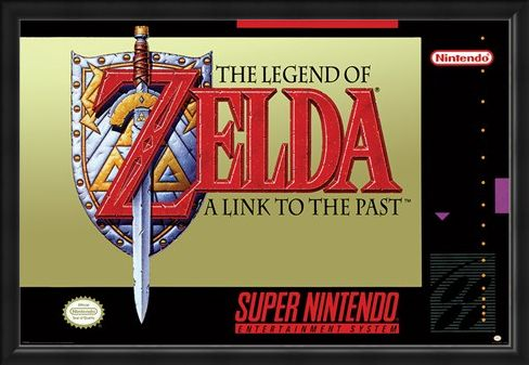 Framed Framed A Link To The Past - The Legend Of Zelda