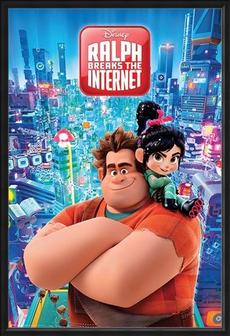 Framed Framed Ralph Breaks the Internet - Wreck-It Ralph