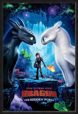 Framed Framed The Hidden World - How To Train Your Dragon