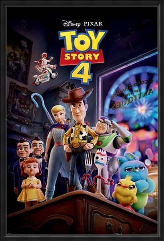 Framed Framed Antique Shop Anarchy - Toy Story 4