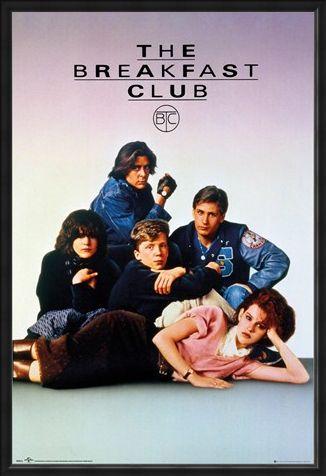 Framed Framed Shermer High School - The Breakfast Club