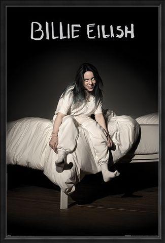 Framed Framed When We All Fall Asleep Where Do We Go - Billie Eilish