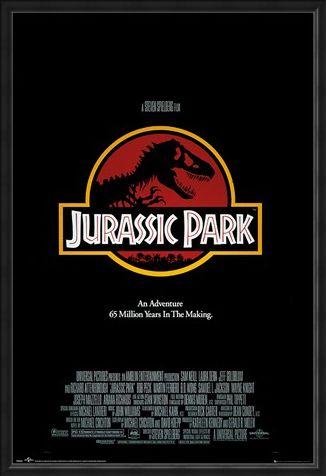 Framed Framed 65 Millions Years In The Making - Jurassic Park