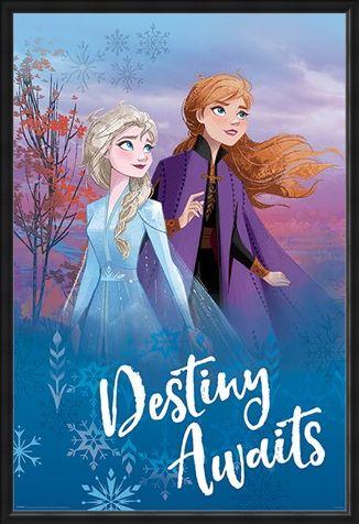 Framed Framed Destiny Awaits - Frozen 2