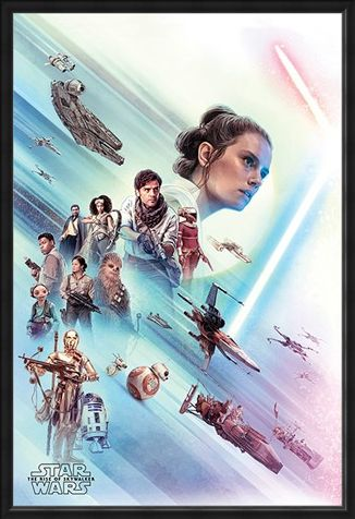 Framed Framed Rey - Star Wars: The Rise of Skywalker