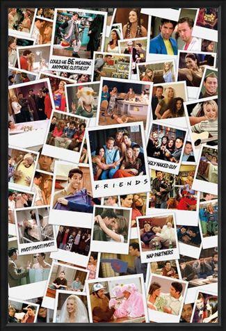 Framed Framed Photo Collage - Friends