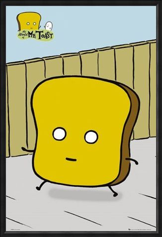 Framed Framed Mr Toast - Dan Goodsell