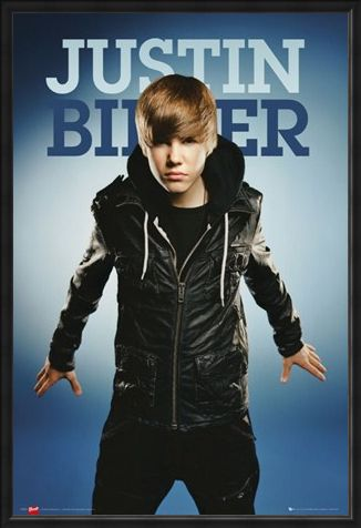 Framed Framed Get the Fever! - Justin Bieber