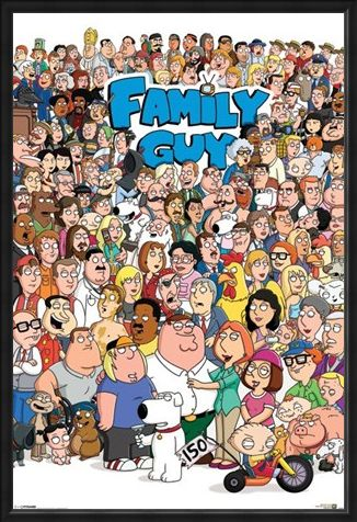 Framed Framed Character Compilation - Family Guy